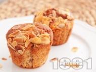 Рецепта Мъфини с банани, ванилия и маково семе